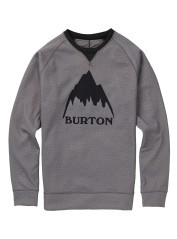 Sweatshirt Mens Crown Bonded