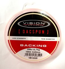 Backing Dacspun 28 lb
