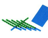 Foam DragonFly Bodies 2,8 mm Green-Blue