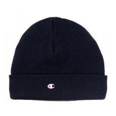 Cappello Unisex Beanie Con Risvolto blu
