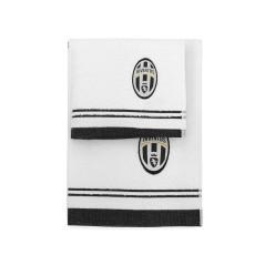 Set Spugna Juventus bianco nero 1
