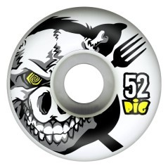 Ruote Skateboard XRay 52mm 101 A bianco fantasia