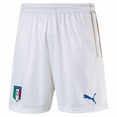 Short Uomo Italia Home & Away Europei 2016 bianco