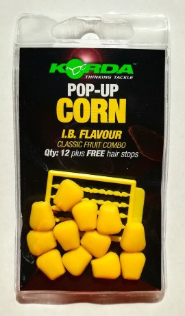 Pop up corn bianco