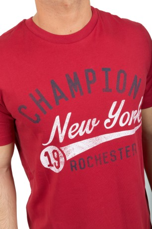 T-Shirt  Uomo American Classic rosso