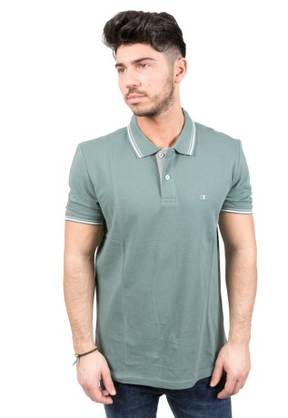 Polo Uomo Easy Fit verde variante 1