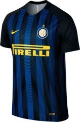 Inter Authentic Home Jersey nero azzurro