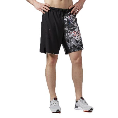Short Uomo One Seriens Running Graphic