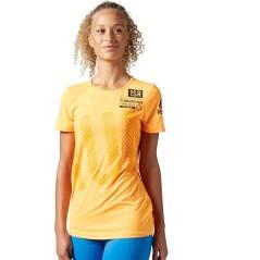 T-Shirt Donna Running ActivChill giallo