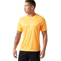T-Shirt Uomo Running Essential giallo