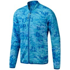 Felpa Uomo Running Essential Woven azzurro