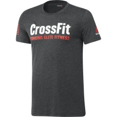 T-Shirt Uomo Crossfit Forging Elite Fitness nero
